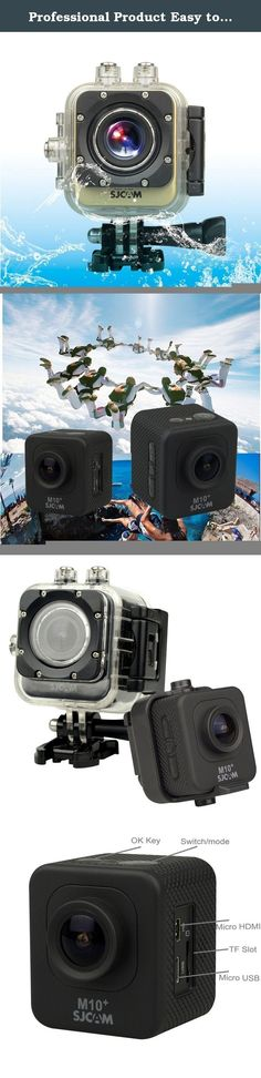 Professional Product Easy to Use SJCAM M10 Plus Novatek 96660 Ultra HD 2K 1.5 inch LCD Screen Sports Action Camera with Waterproof Case, 170 Degrees Wide Angle Lens, 30m Waterproof ( Color : Gold ). Professional Product Easy to Use Model : M10 Plus Video format : MP4 Package Contents : 1 x Sports DV Camcorder , 1 x Waterproof Case , 1 x Waterproof Case Gap , 1 x Bicycle Stand , 1 x Bandage , 2 x 3M Adhesive Tapes , 1 x USB Data Cable , 1 x Cleaning Cloth , 1 x Strap , 2 x Clips , 1x…