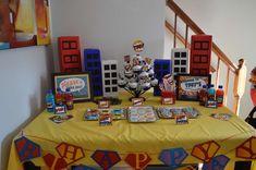 Superhero Birthday Party Ideas   Photo 14 of 22   Catch My Party