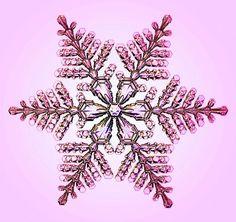 宝石みたい。研究者が数年にわたり記録した雪の結晶たち 7                                                                                                                                                                                 もっと見る