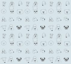 Dog Print Wallpaper chris ryniak | inspired to draw | pinterest | dog wallpaper, dog