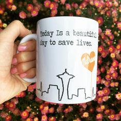 Grey Anatomy McDreamy Quote Mug by SincerelyEunice on Etsy https://www.etsy.com/listing/231807745/grey-anatomy-mcdreamy-quote-mug