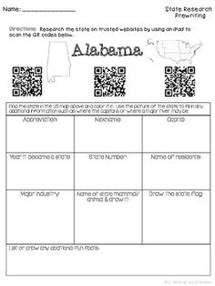 86 best future homeschooling years images on pinterest united states research 50 states researching and presenting with qr codes fandeluxe Image collections