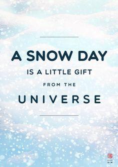 Snow Day 1/100