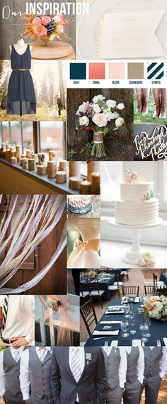 Bob and Kristie Wedding Inspiration Board