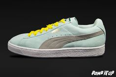Puma Suede Classic (Fair aqua-drizzle) For Women Sizes: from 36 to 41 EUR Price: CHF         