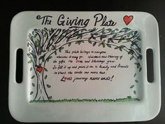 The giving plate So we can give it to the next person who is doing friendsgiving Sharpie Paint Pens, Sharpie Crafts, Sharpies, Sharpie Mugs, Pottery Painting, Ceramic Painting, Painted Pottery, Pottery Designs, Mug Designs