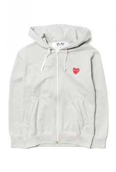 CDG Play - Mens sweatshirt knit 3d0daa543846
