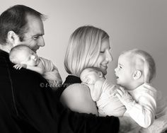 Newborn baby twin and sibling photography. Seattle newborn photographer