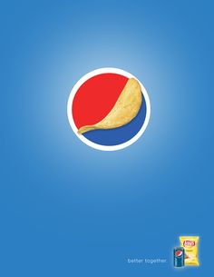 Clever advertising and marketing Pepsi + Lays – NAC Silver Award (Campaign Category) on Behance Creative Advertising, Brand Advertising, Ads Creative, Creative Posters, Advertising Poster, Advertising Campaign, Pepsi Advertisement, Propaganda E Marketing, Desgin