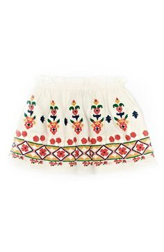 Peek 'Bella' Embroidered Skirt (Baby Girls) available at #Nordstrom