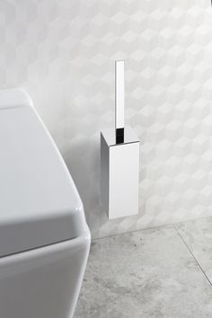Made from brass and zinc, there's a wide choice of accessories for basin, toilet and showering areas - Zest Toilet Brush Holder from Crosswater. http://www.crosswater.co.uk/product/zest-bathroom-accessories/zest-toilet-brush-holder/