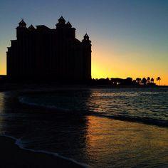 Last night's sunset. #thegoodlife #thecoveatlantis #bahamas #sunset