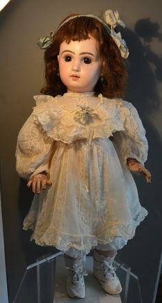 Antike Puppe!!! Tete Jumeau!!! Geschlossener Mund!!! | eBay