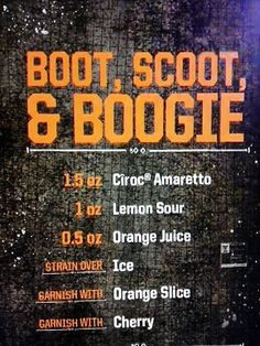 BOOT, SCOOT, and BOOGIE