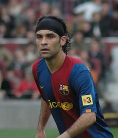 0be9c16462 Rafa Marquez Barcelona Players