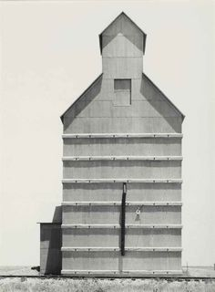 Dorothea Lange |  Grain Elevator |  Everett, Texas | 1938