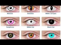 Benefits of Coloured Contact Lenses