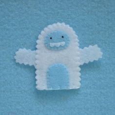 Hey, I found this really awesome Etsy listing at http://www.etsy.com/listing/70005954/yeti-finger-puppet