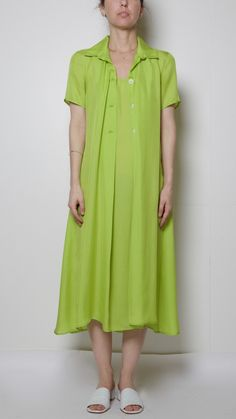 Maryam Nassir Zadeh Ruby Dress in Lime