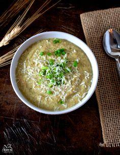 Crock Pot Creamy Cauliflower Broccoli Soup