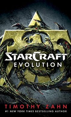 StarCraft: Evolution by Timothy Zahn.  Please click on the book jacket to check availability or place a hold @ Otis. 11/1/17