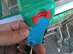 Shopping Cart Token 3D Print 7681