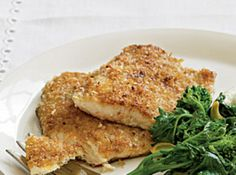 Jodie's Pecan Crusted Trout- dinner tonight!