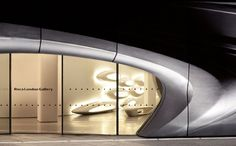 The Roca Gallery in London by Zaha Hadid Architects