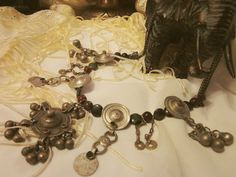 Roxana: Kuchi Pendant Statement Necklace. $75.00, via Etsy.