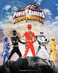 Power Rangers Dino Thunder Print