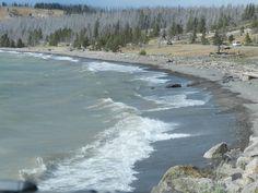 North Shore of Yellowstone Lake