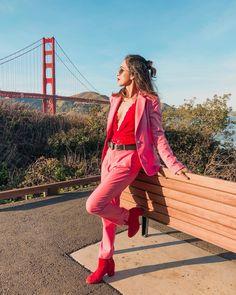 """a060cc228ba Michele on Instagram  """"💓 Happy Valentine s Day 💓 Usar rosa e vermelho foi  o mais perto que eu cheguei de celebrar o """"Valentine s Day"""" (dia dos  namorados ..."""