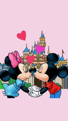 Mickey And Minnie Love, Mickey And Friends, Mickey Mouse Wallpaper, Wallpaper Iphone Disney, Minnie Mouse Pictures, Disney Pictures, Disney Movies, Walt Disney, Disney Wedding Rings