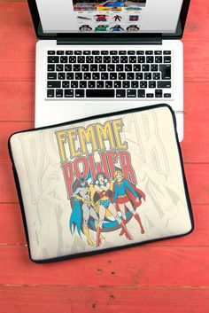 Capa de Notebook de Neoprene Dc Comics Power Girls Modelo Femme Power