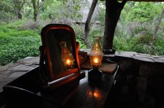 Luxury in the bush. Game Reserve, Under The Stars, Beautiful Places, Stone, Luxury, Rock, Rocks, Stones