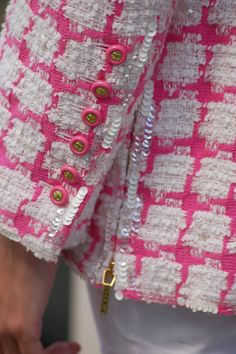 Chanel Bouclé Jacke, Detail