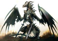 Undead dragon concept by Kekai Kotaki