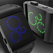 LED Watch Kisai Satellite USB Rechargeable Probably going to be the next watch I'm going to buy.