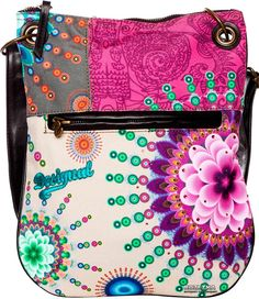 Colourful Flower Desigual Bag