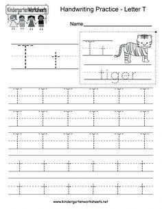 Kindergarten Worksheets Pdf Free Download Handwriting