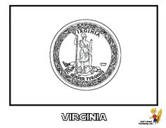California State Flag Coloring Page SEE the official flag