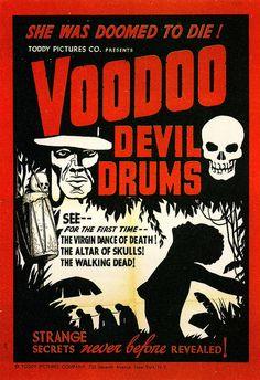Voodoo Devil Drums by Vintage Cool 2, via Flickr