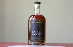 Blacones Single Malt Texas Style Whiskey:  Don't know if I love it yet, but I'm very interested in finding out.