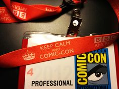 Thanks for a great Comic Con Preview Night! It got ridonkulously crowded at the BBC America booth but everyone was excited and in good spirits. That's probably because everybody had a chance to purchase new exclusive Doctor Who gear, see demos of the Sonic Screwdriver Universal Remote, and get these awesome (and free) 'Keep Calm and Comic-Con' BBC America lanyards! We even handed out a few of these ourselves, joking with everyone in line and starting group cheers and other things. If you're…