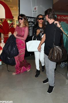 Brittny Gastineau joined Jonathan and the group of guests.