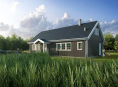 Bygge hus? Nettside med tips om ferdighus. Shed, Outdoor Structures, Cabin, House Styles, Home Decor, Decoration Home, Room Decor, Cabins, Cottage