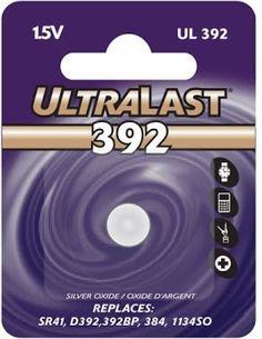392 1.5V UltraLast Silver Oxide Watch Battery