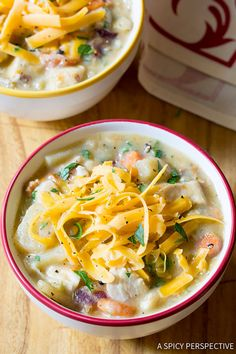 Healthy Slow Cooker Chicken Potato Soup - CountryLiving.com