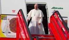 Resultado de imagen para imágenes del papa francisco en colombia ciudades