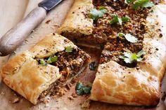Spiced lamb and sweet potato pie main image